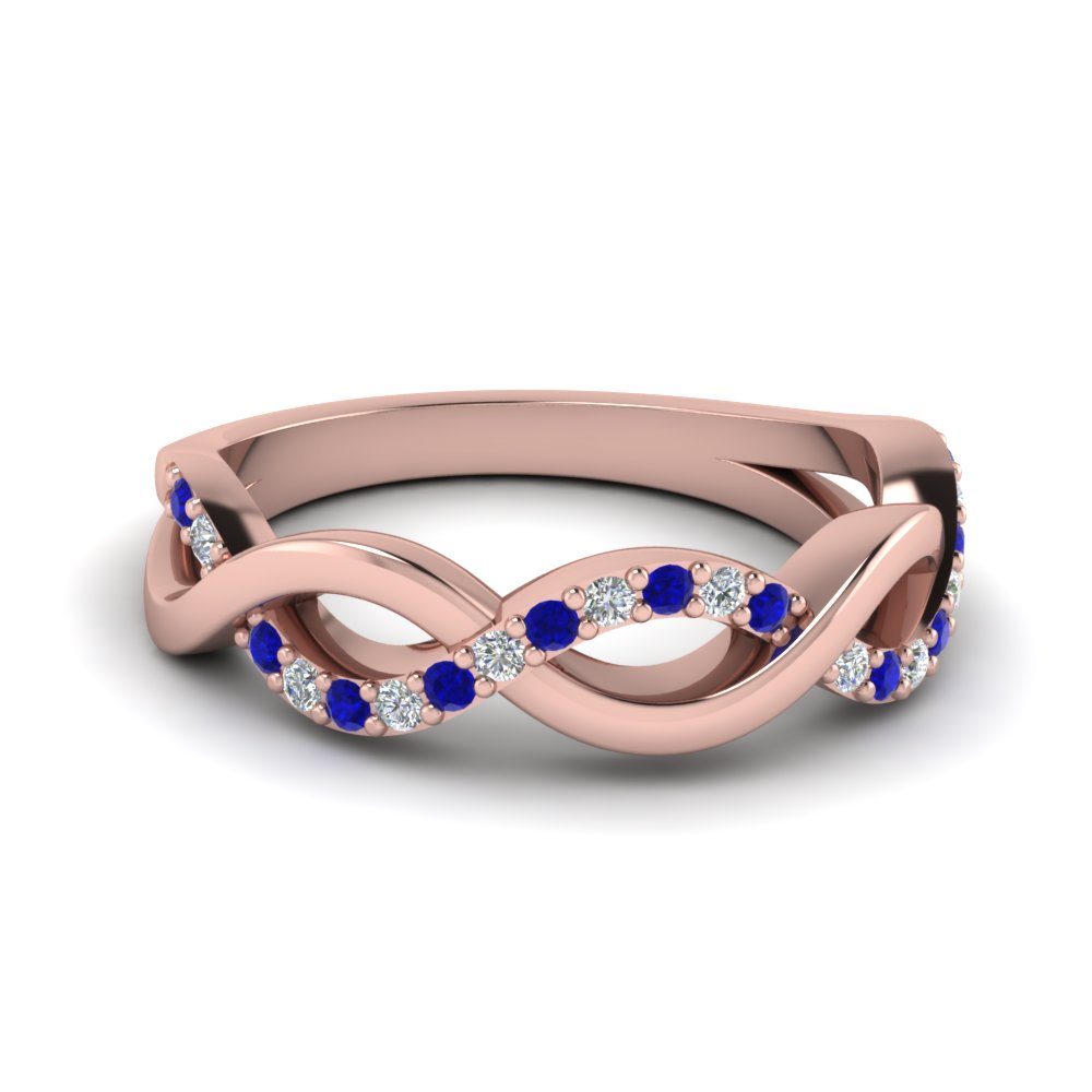 Sapphire Unusual Wedding Rings