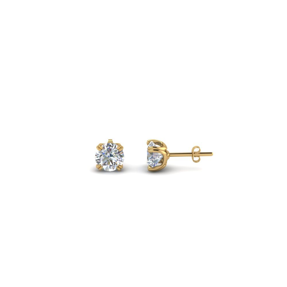 0.20 Carat Diamond Stud Earring For Kids