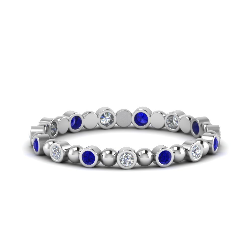 0.25-carat-diamond-bezel-bead-wedding-band-with-sapphire-in-FDEWB123630RO(1.50MM)GSABL-NL-WG