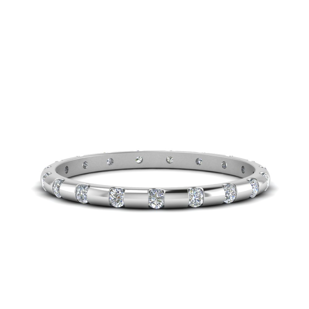 0.25 Ct. Bar Set Diamond Eternity Band