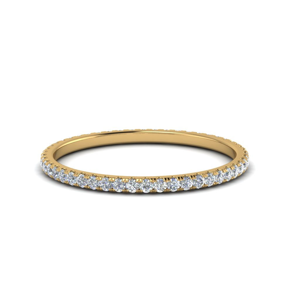 0.25 ct. round diamond eternity band in FDEWB8371 0.25CTB NL YG