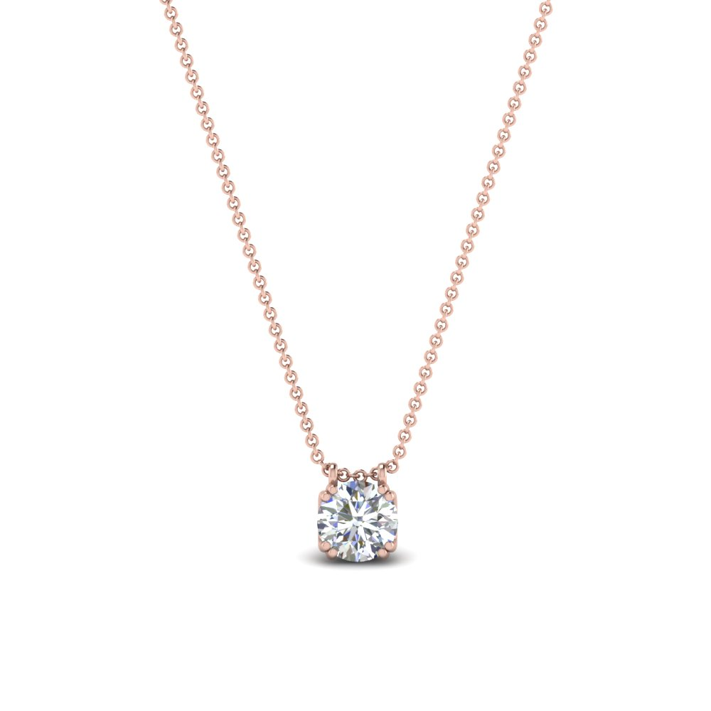 0.30 Ctw. Diamond Solitaire Pendant