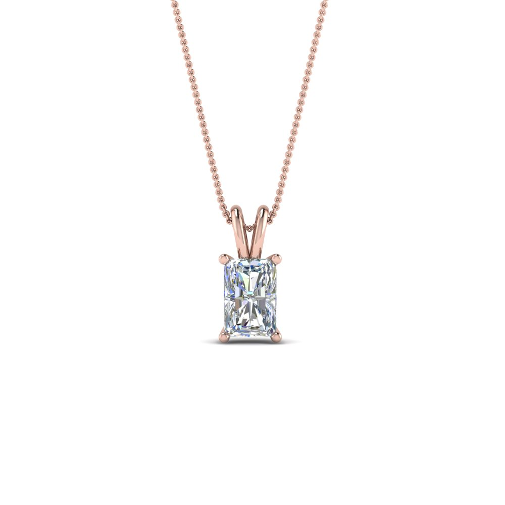 Radiant 0.50 Ctw. Diamond Necklace