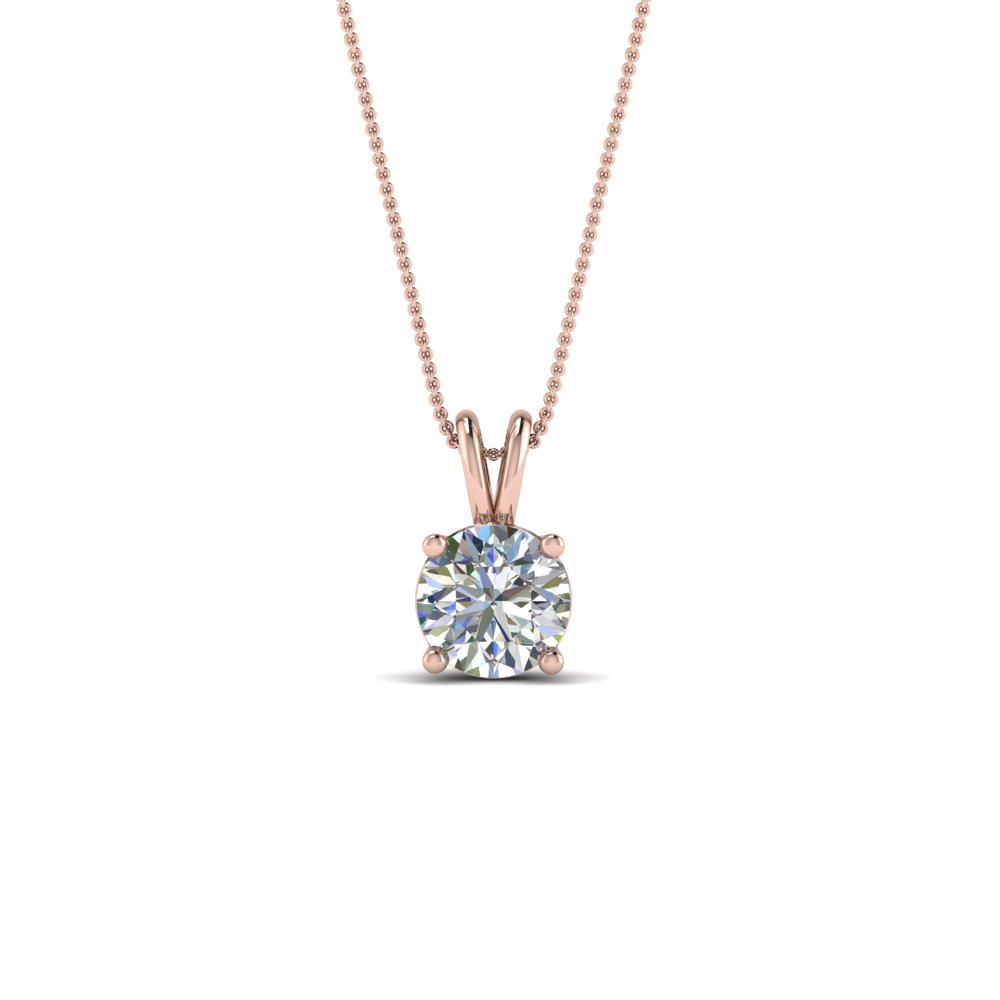 0.5 Ct. Diamond Round Pendant