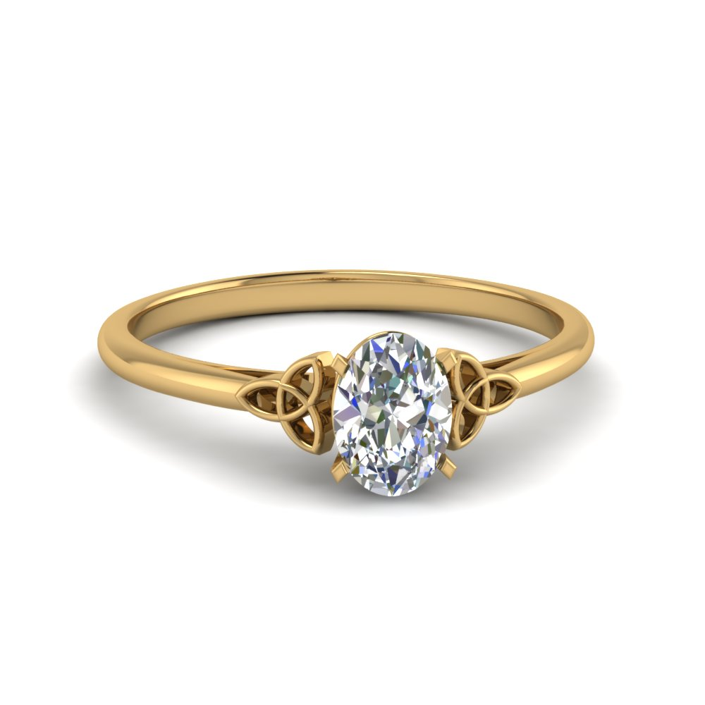 0.50 carat diamond oval shaped irish solitaire engagement ring in FD8541OVR NL YG.jpg