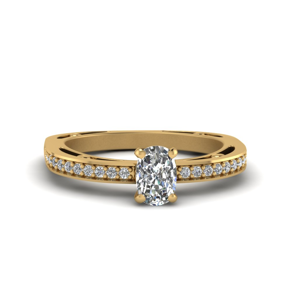 0.50 Ct. Diamond Petite Pave Ring