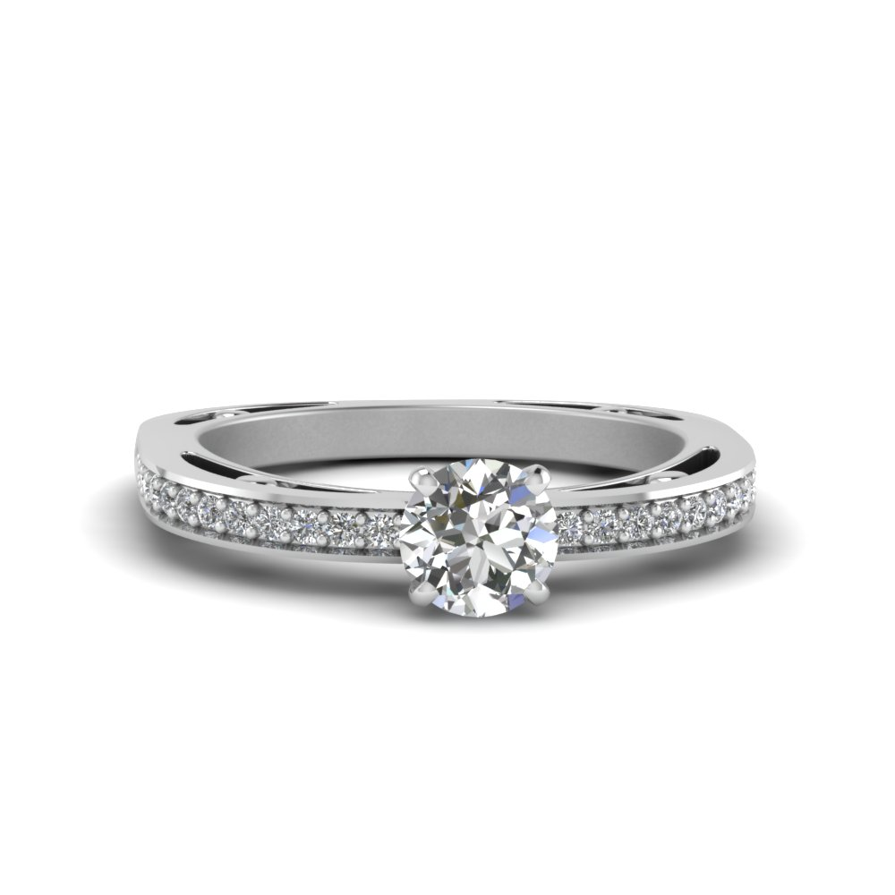 0.50 Ct. Diamond Pave Ring