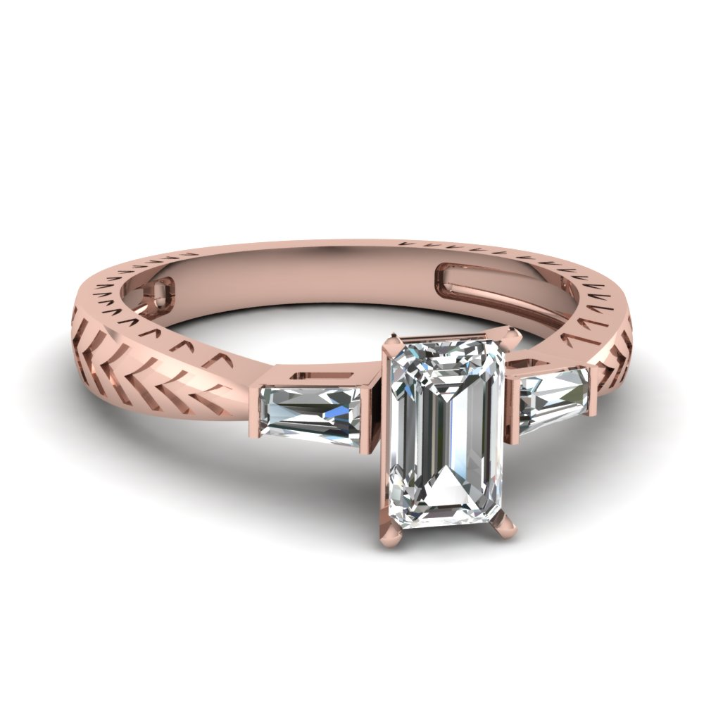 0.50 ct. emerald cut diamond baguette 3 stone engagement ring in FDENR1202EMR NL RG.jpg