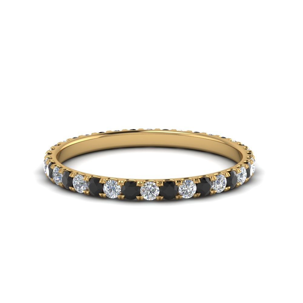 0.50 Ct. Black Diamond Eternity Band
