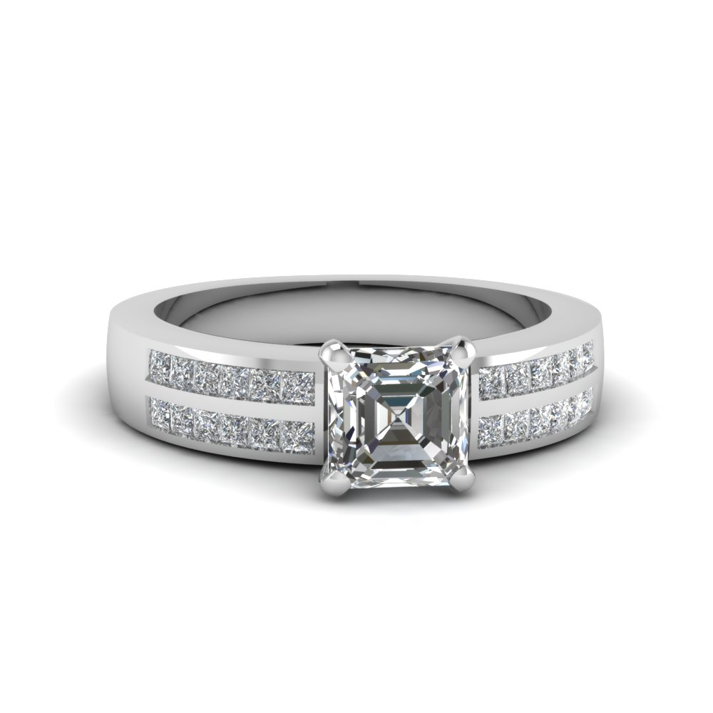 0.75 carat asscher diamond 2 row engagement ring in FDENS3124ASR NL WG.jpg