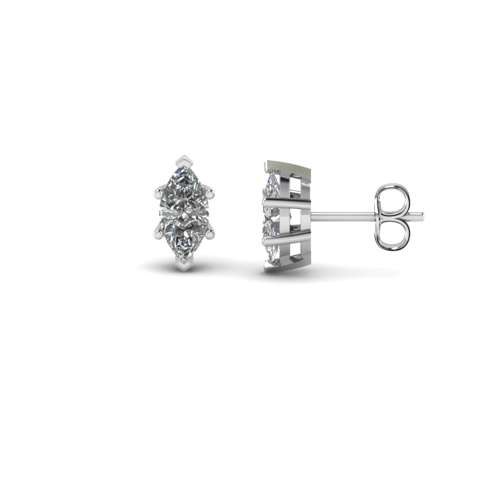 0.75 Ct. Diamond Stud Earring