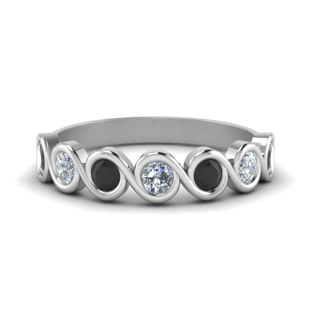 0.75 Carat Round Diamond Band