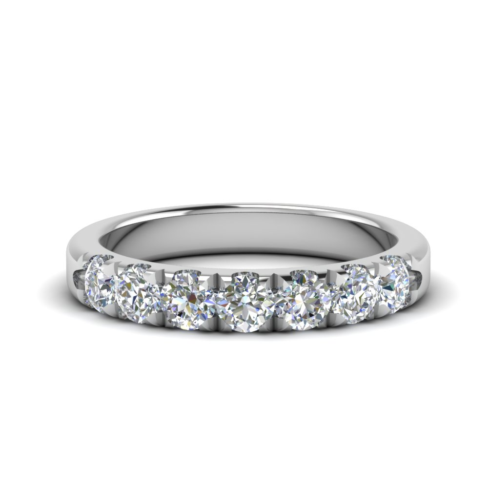 0.75 Ct. Diamond 7 Stone Band