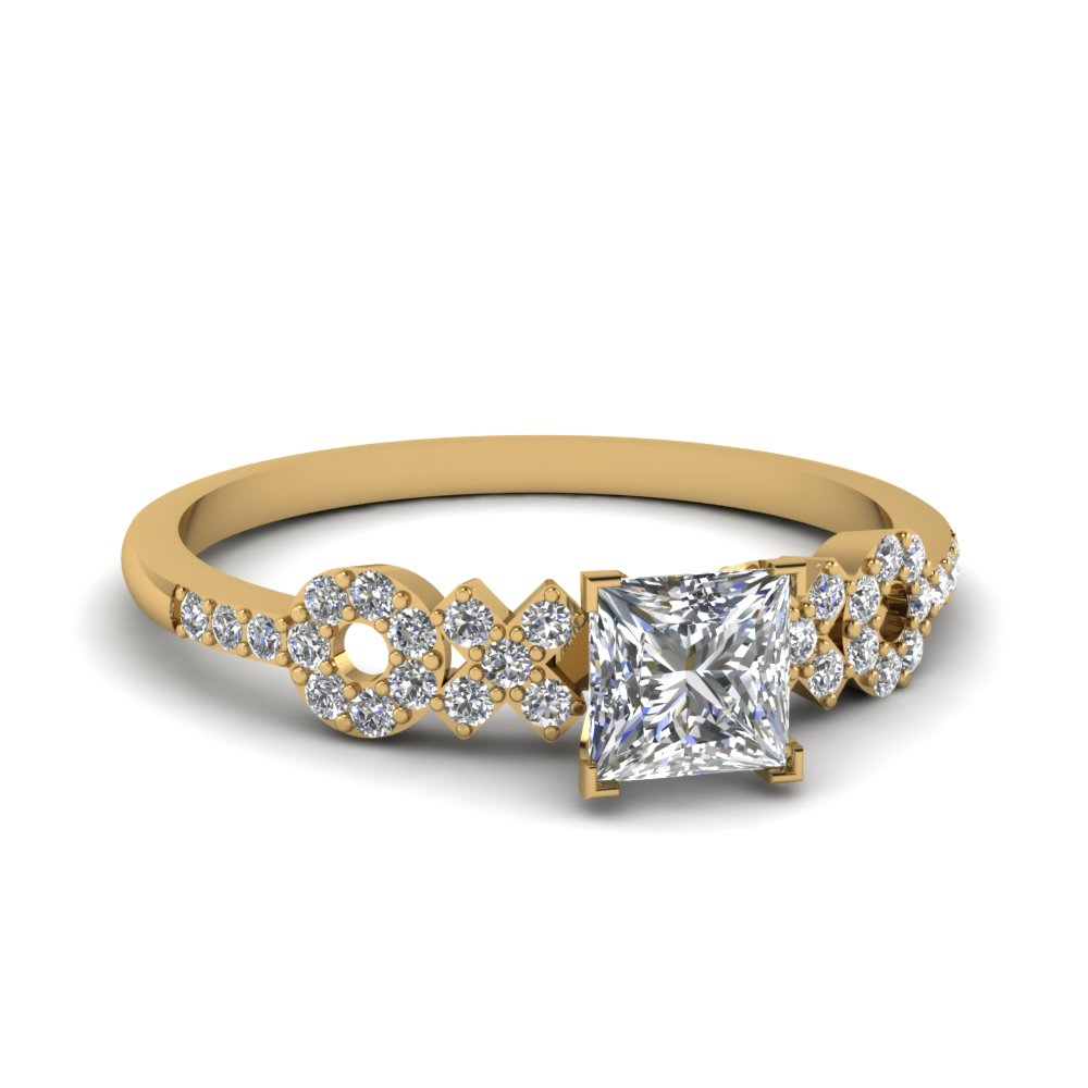 Simple Accent Diamond Ring