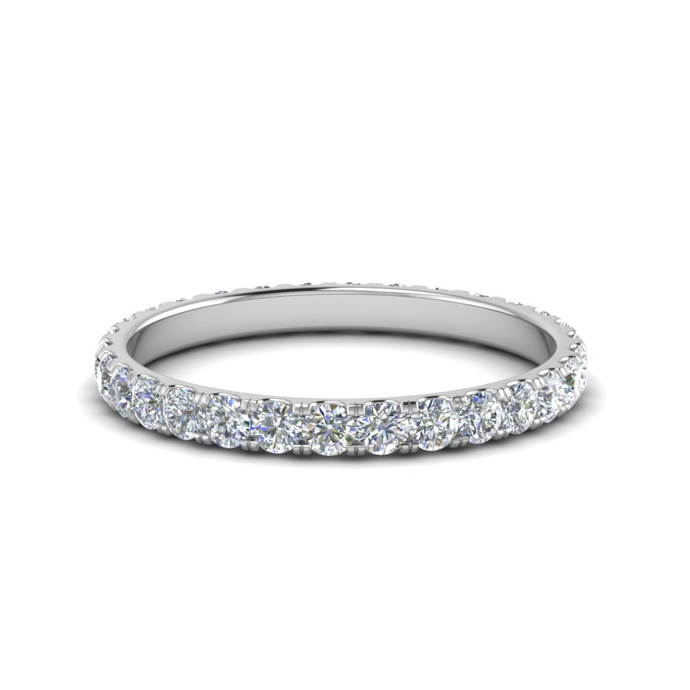This is a picture of 38.38 Ct. Round Eternity Wedding Band