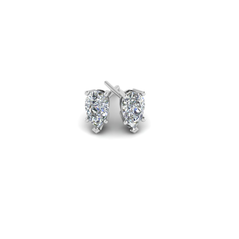 diamond london stud gold white earrings jian charmisma