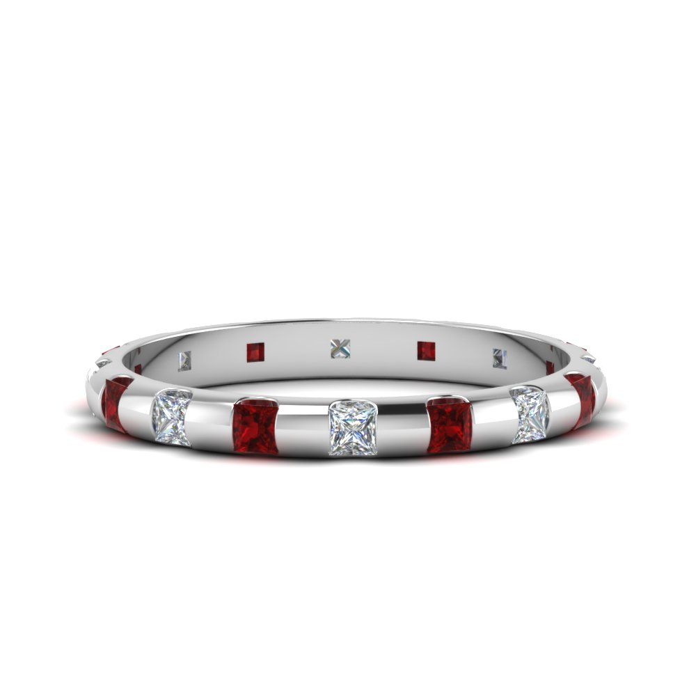 1 Ctw. Princess Cut Eternity Band