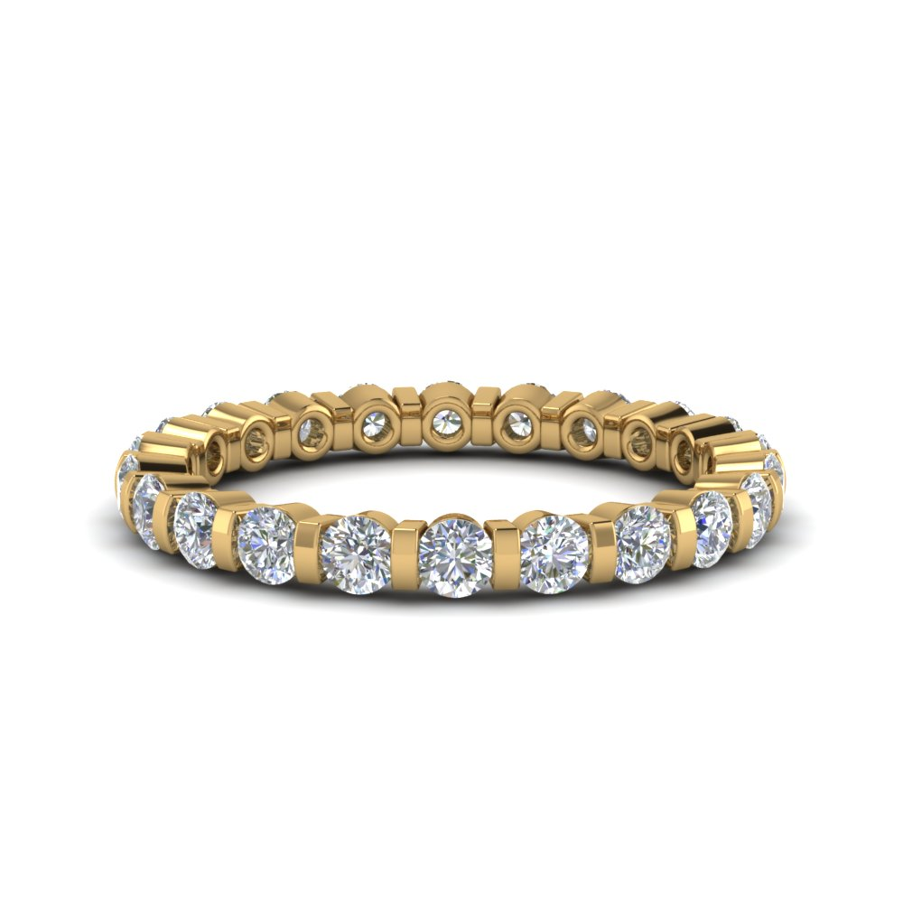 1 Ct. Round Cut Eternity Band