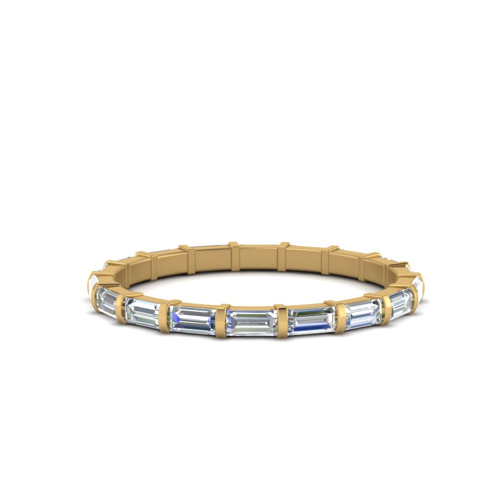 1 Ct. Baguette Bar Eternity Band