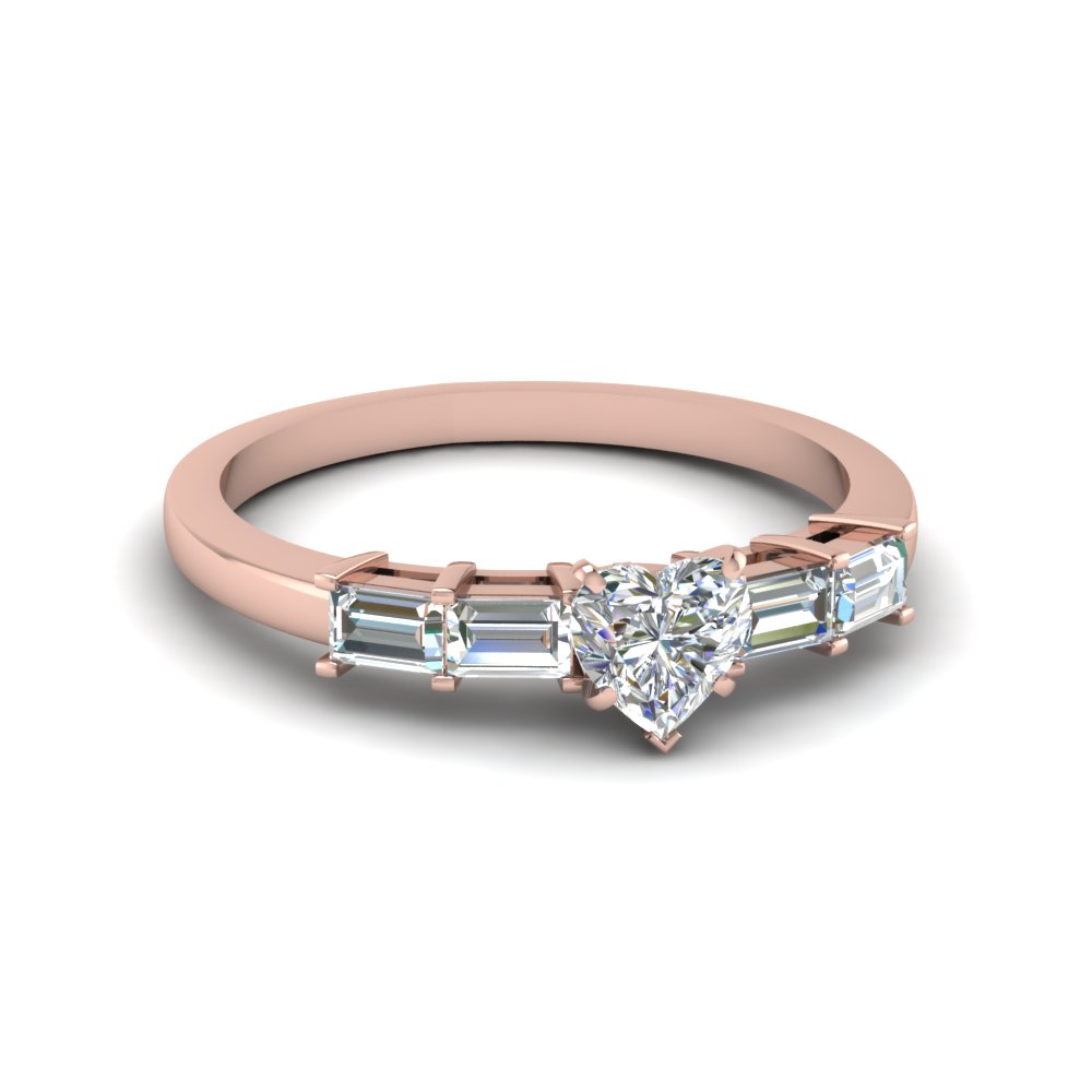 1 ct. diamond basket baguette heart shaped engagement ring in FDENS3076HTR NL RG.jpg