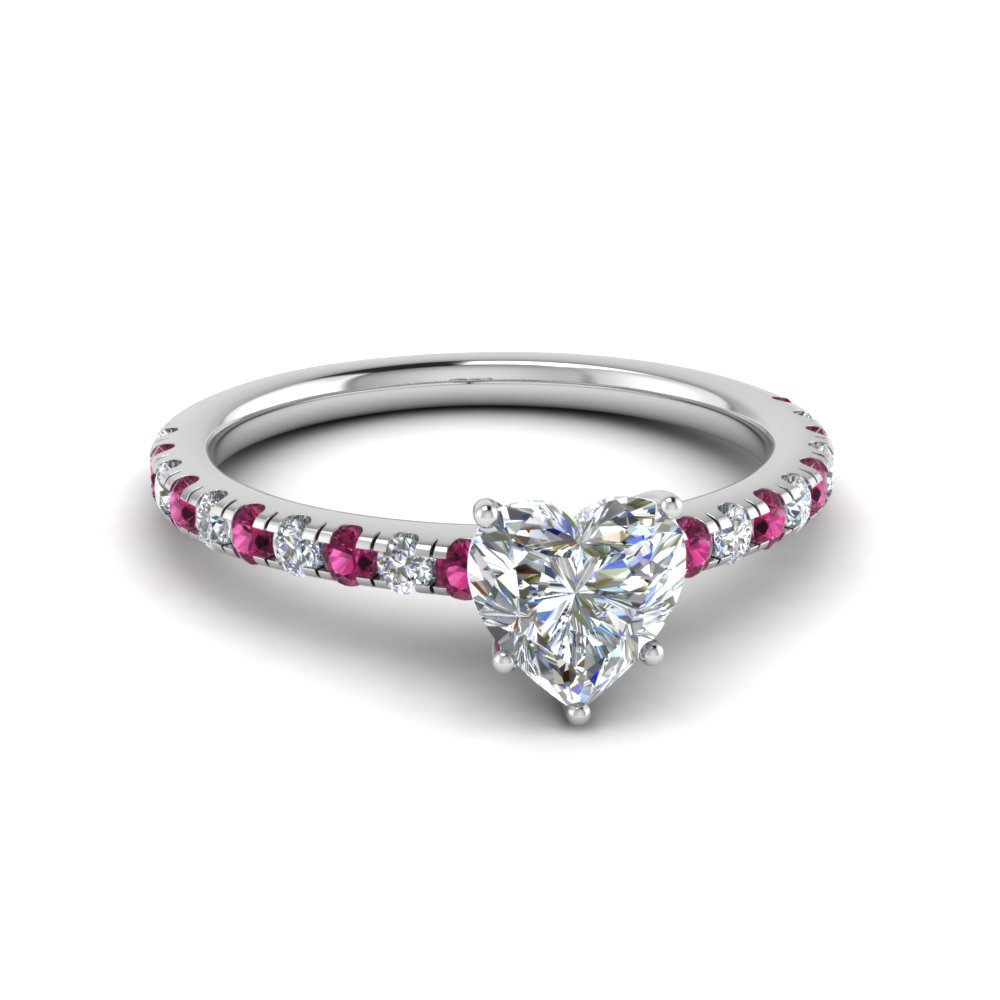 1 Ct. Diamond Beautiful Heart Mom Ring