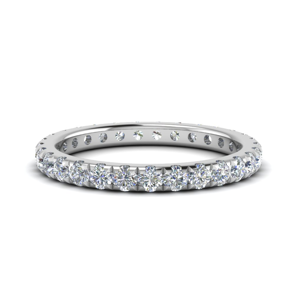 1 Ct. Diamond Eternity U Prong Band