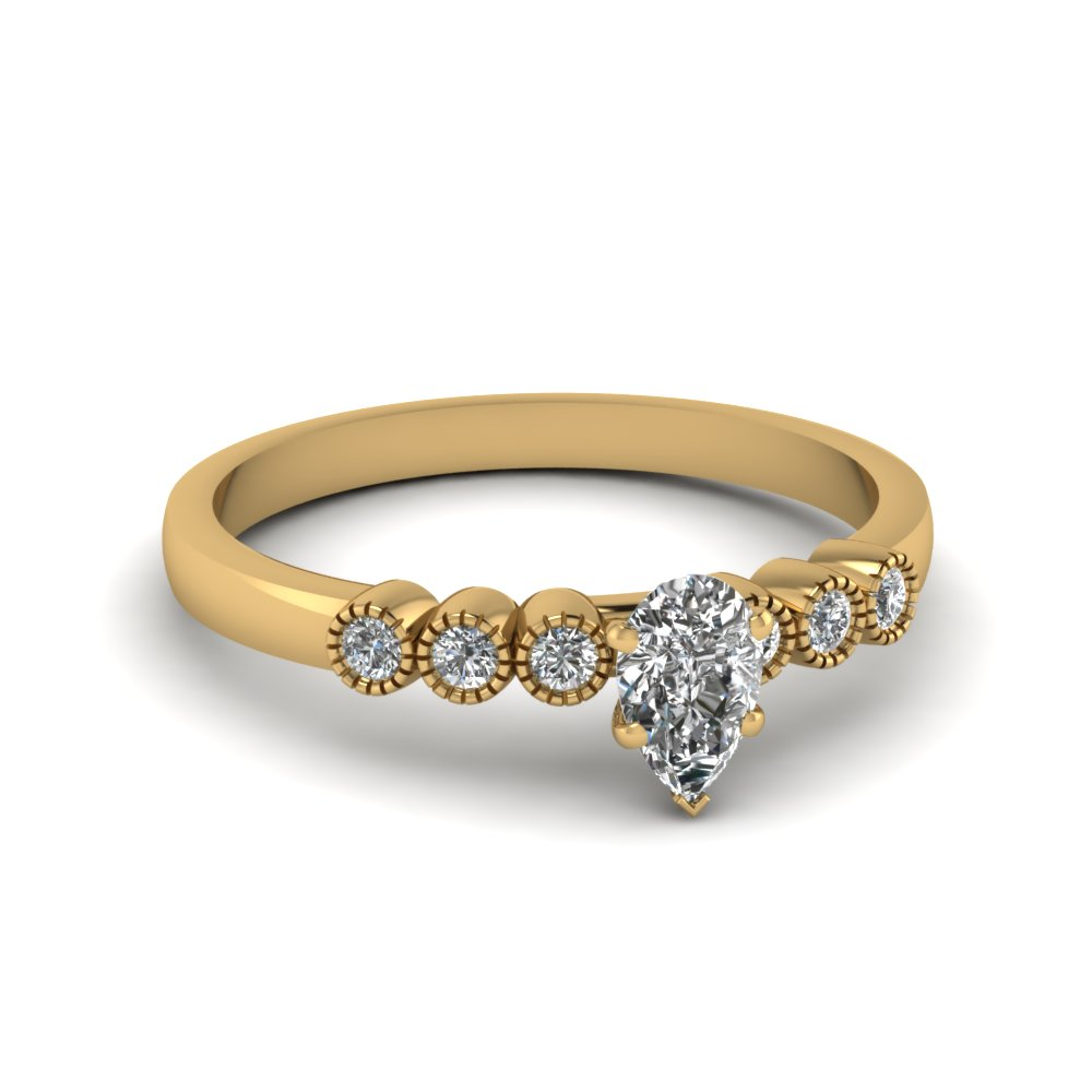 1 Ct. Diamond Petite Bezel Set Ring