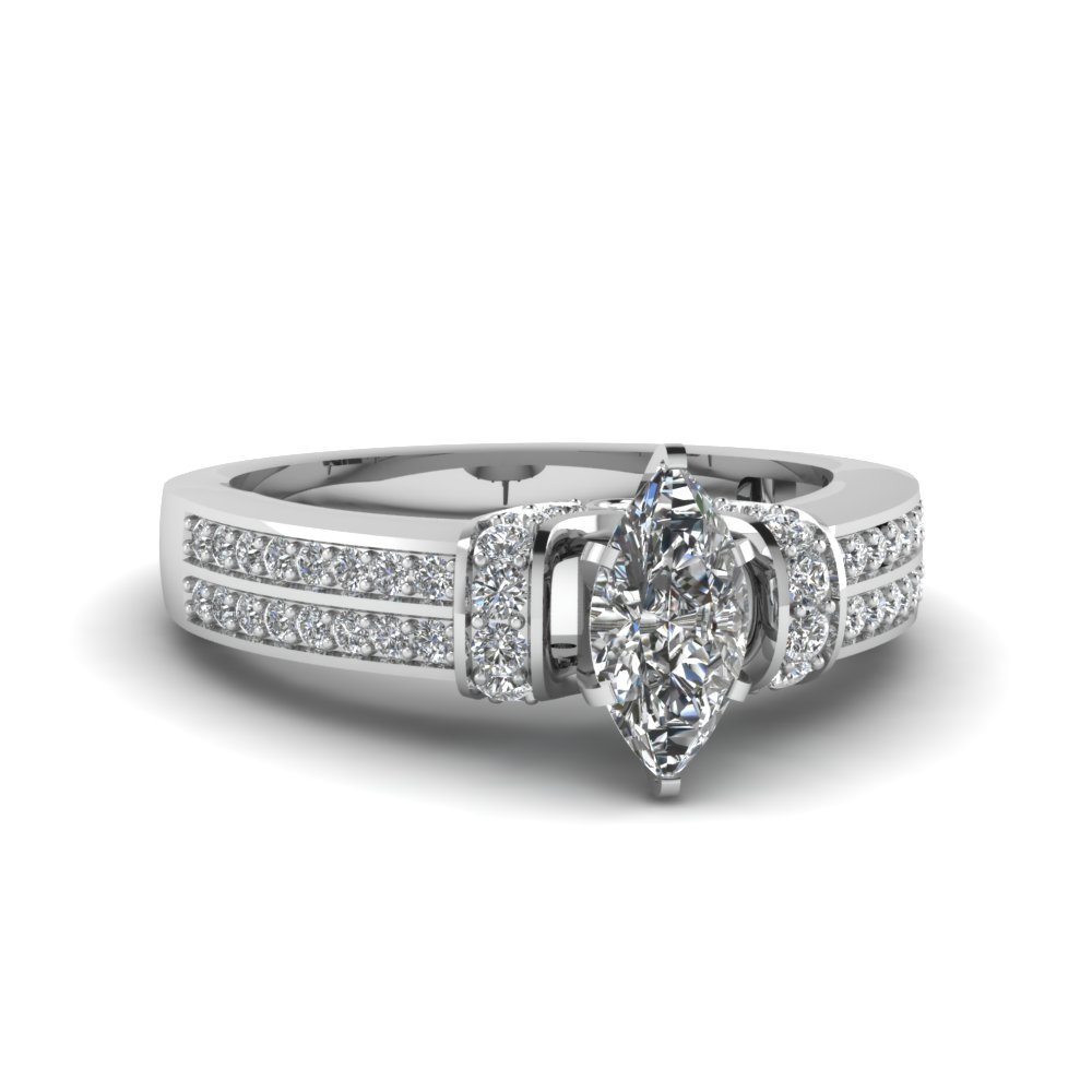 1 ct. marquise diamond pave wrap engagement ring in FDENS3279MQR NL WG.jpg