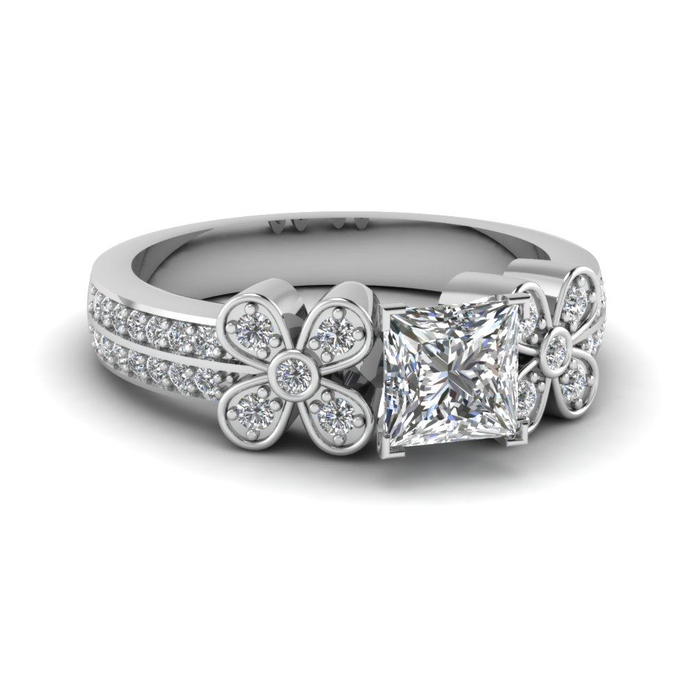 Daisy Diamond Ring 1 Carat