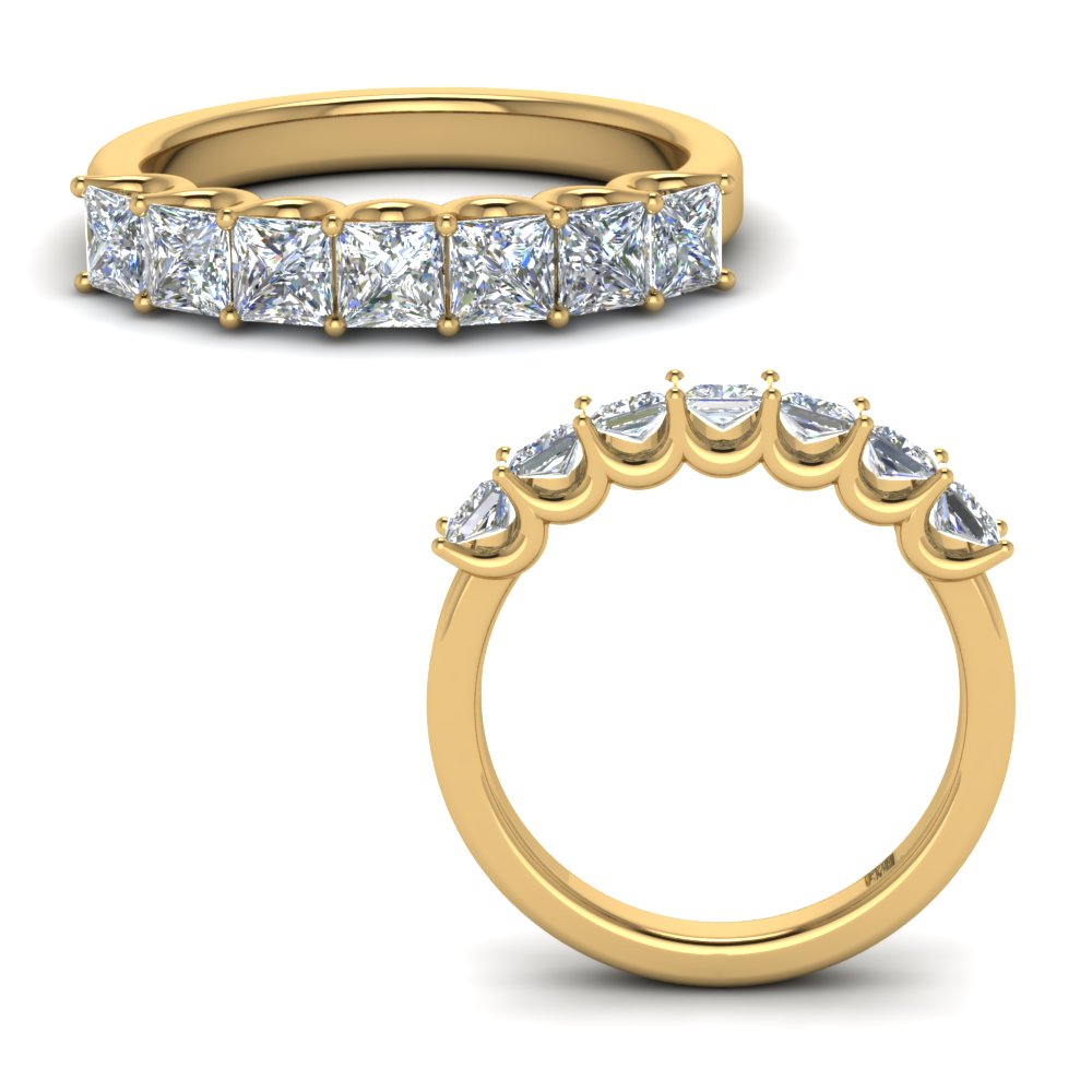 1.25-ct.-princess-cut-classic-diamond-7-stone-anniversary-band-in-FD123658PR(3.00MM)ANGLE3-NL-YG