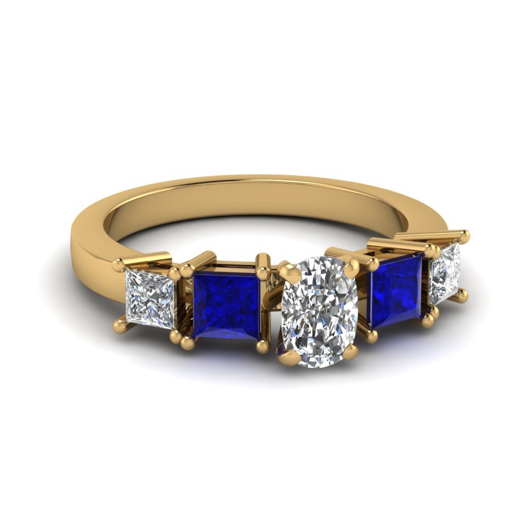 Beautiful Sapphire Wedding Ring