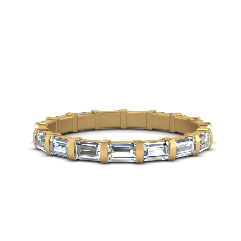 1.36 Ct. Baguette Bar Eternity Band