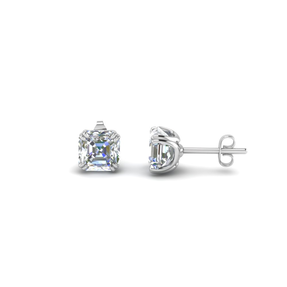 1 5 Carat Cher Diamond Earring In Fdear8461as 0 75ct Nl Wg
