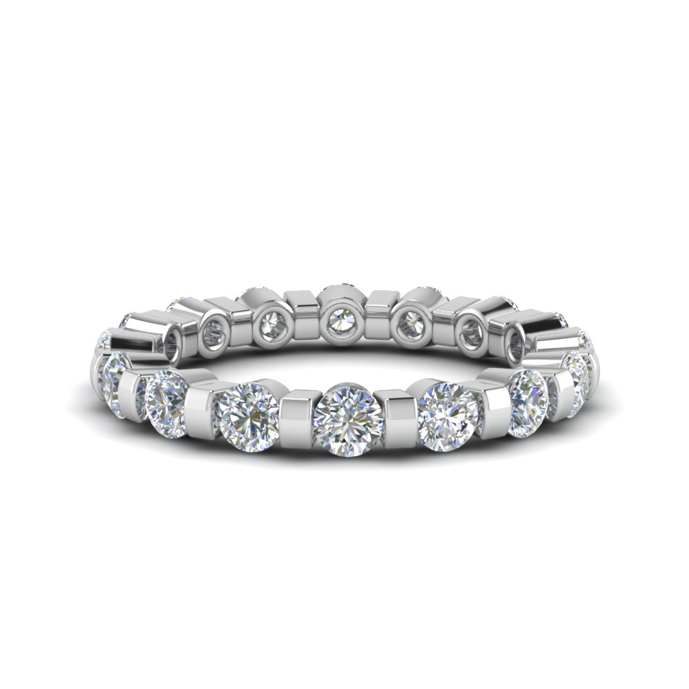 1.50 Ct. Round Diamond Eternity Ring