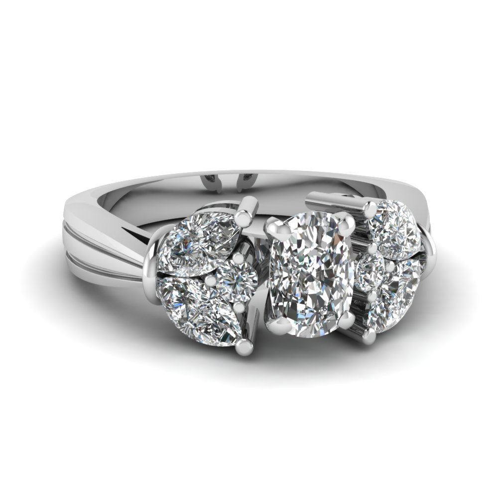 1.50 Carat Cushion Diamond Ring