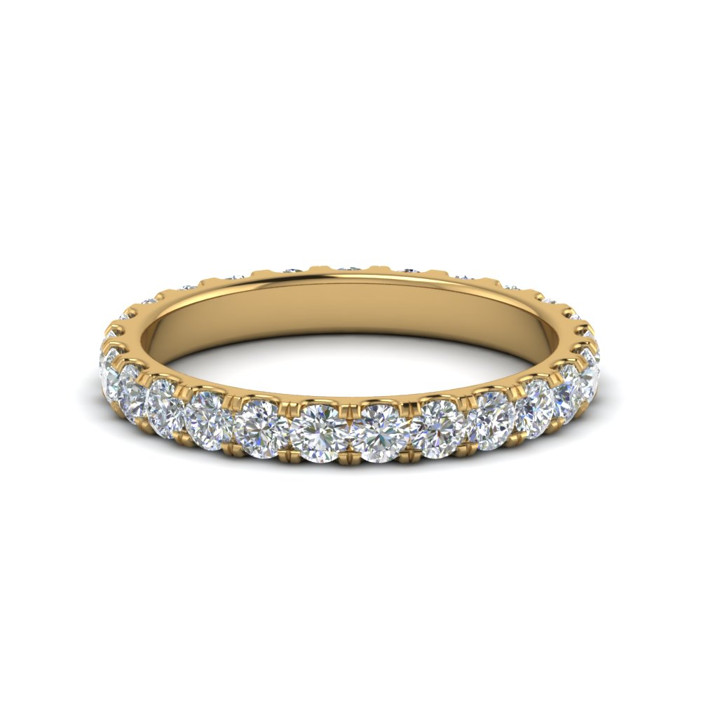 1.50 Carat Round Eternity Band