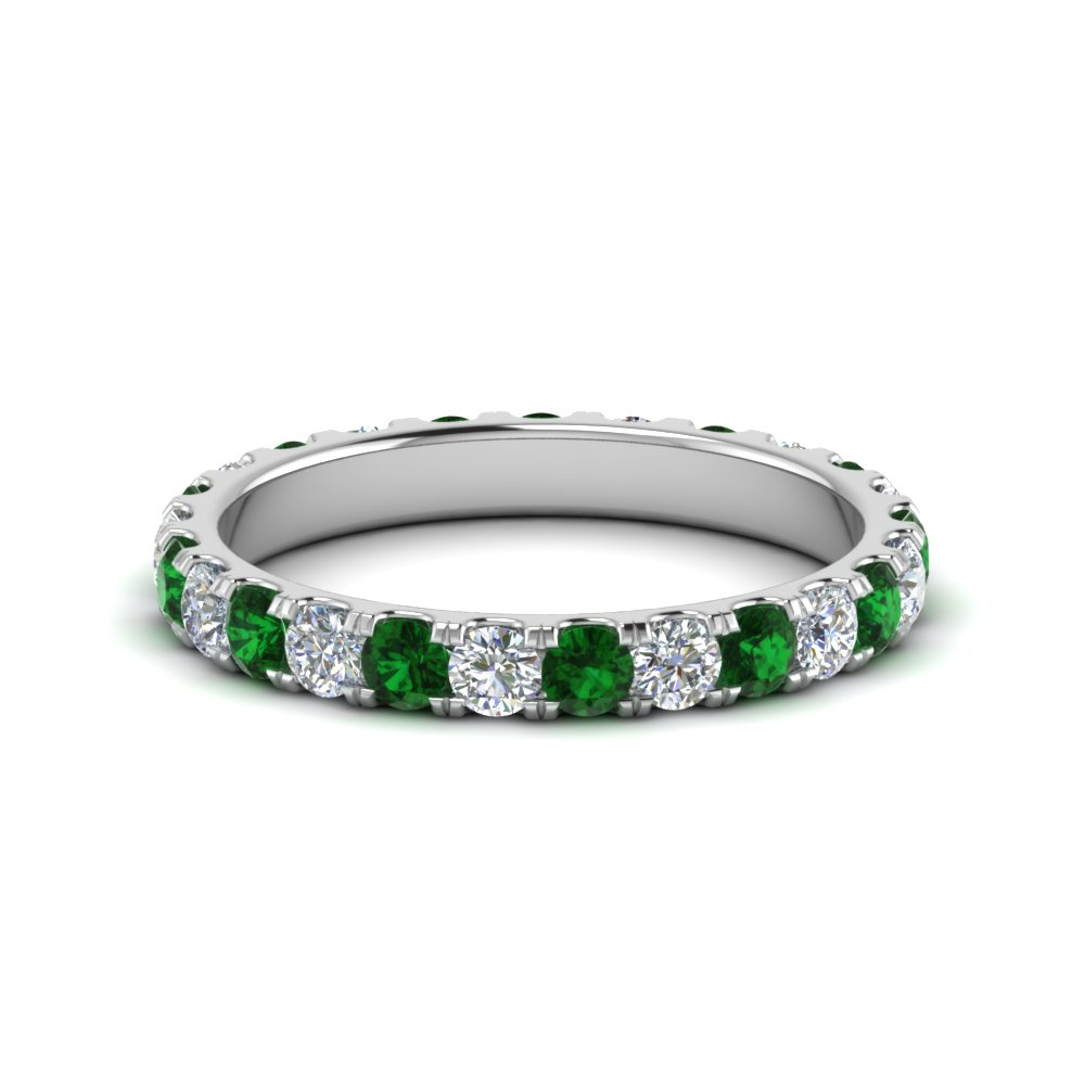 1.50 Ct. Round Cut Eternity Band