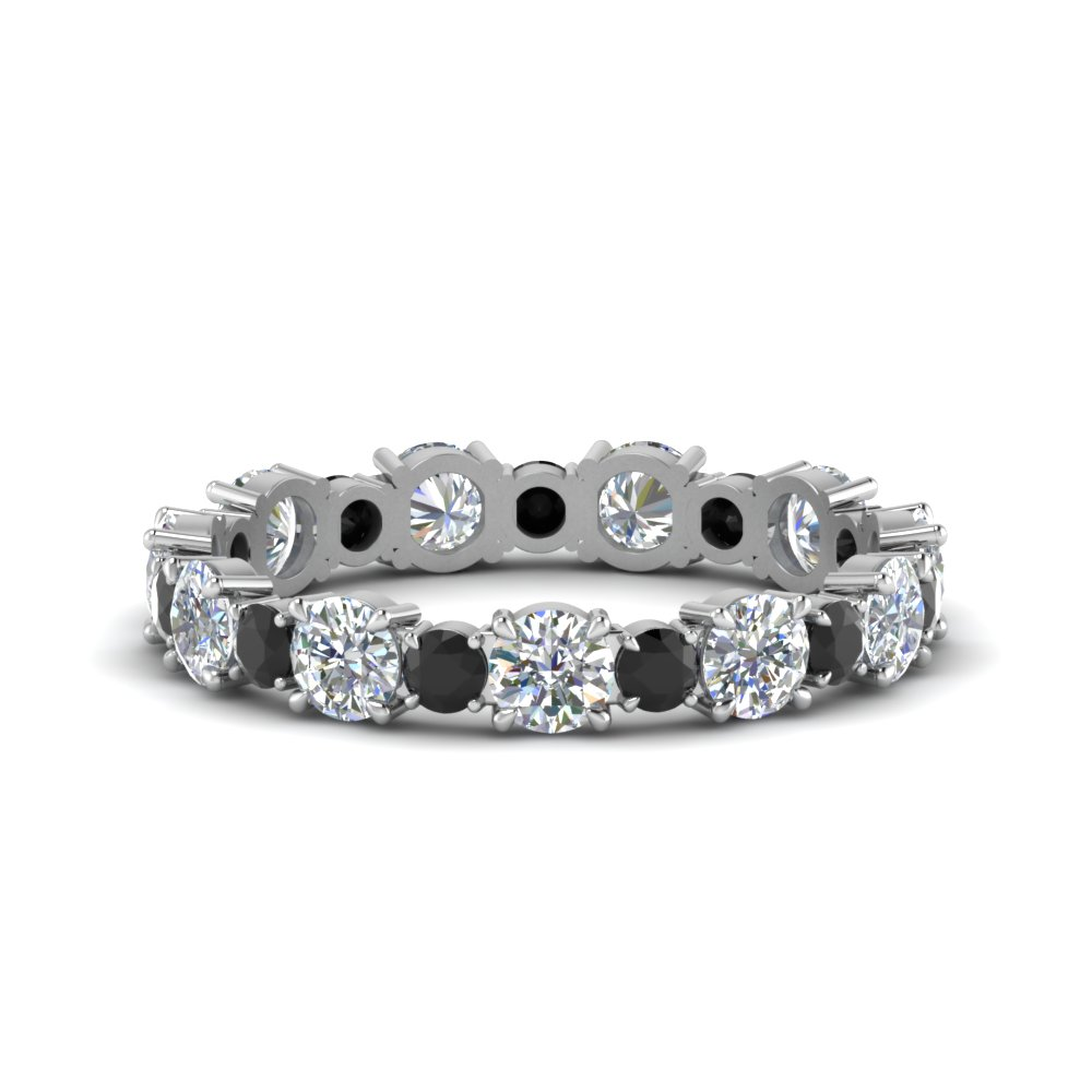 Asymmetrical Eternity Band