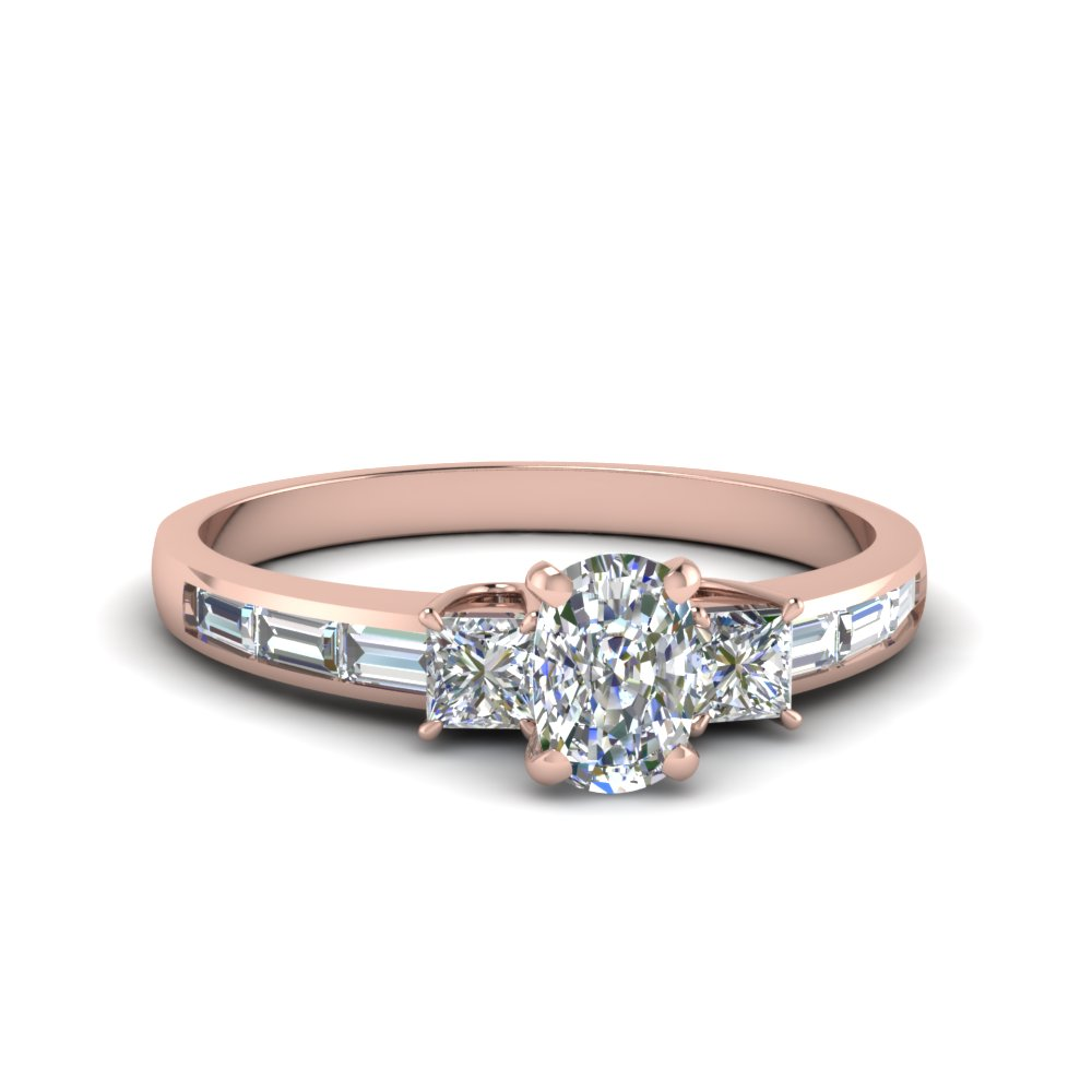 Prong Set Engagement Rings