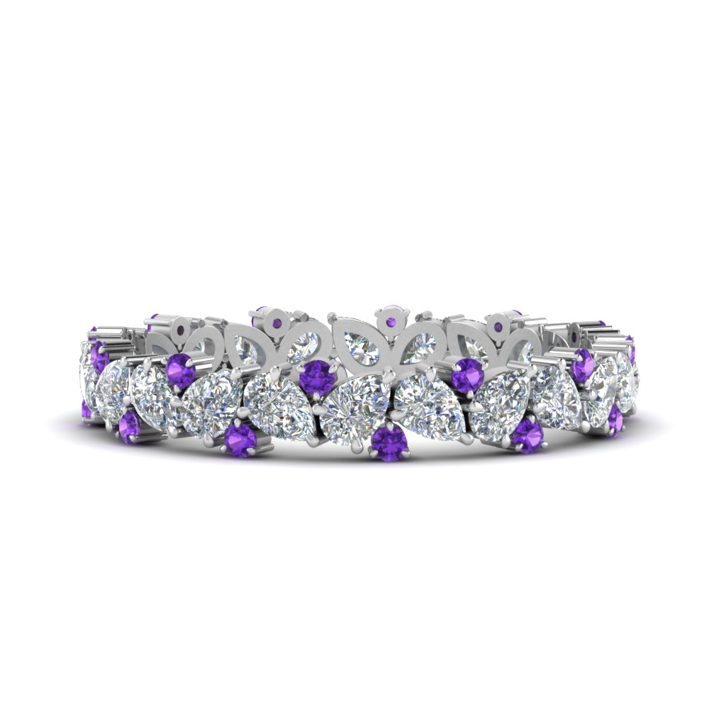 1.50-ct.-pear-eternity-diamond-band-with-purple-topaz-in-FDEWB9203GVITO-NL-WG