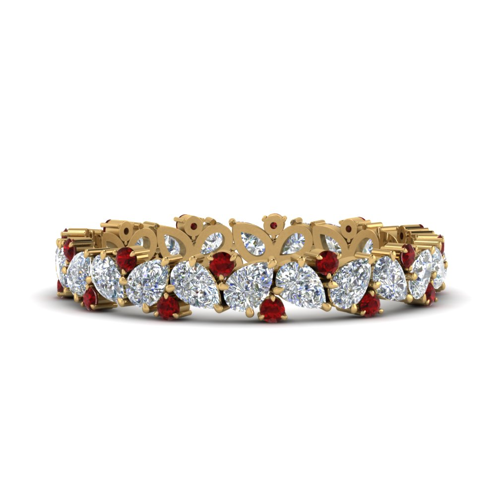 1.50-ct.-pear-eternity-diamond-band-with-ruby-in-FDEWB9203GRUDR-NL-YG