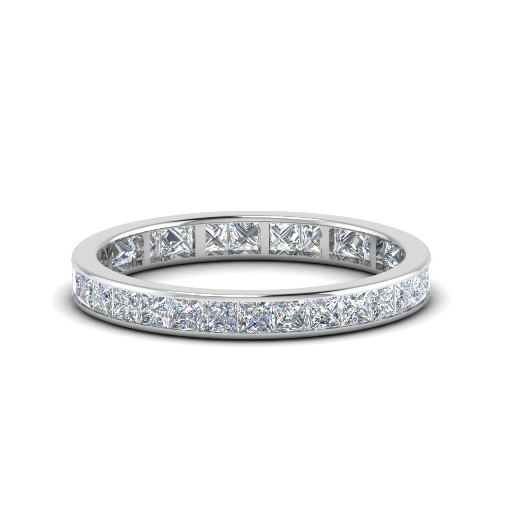 1.50 Ct. Princess Diamond Anniversary Band