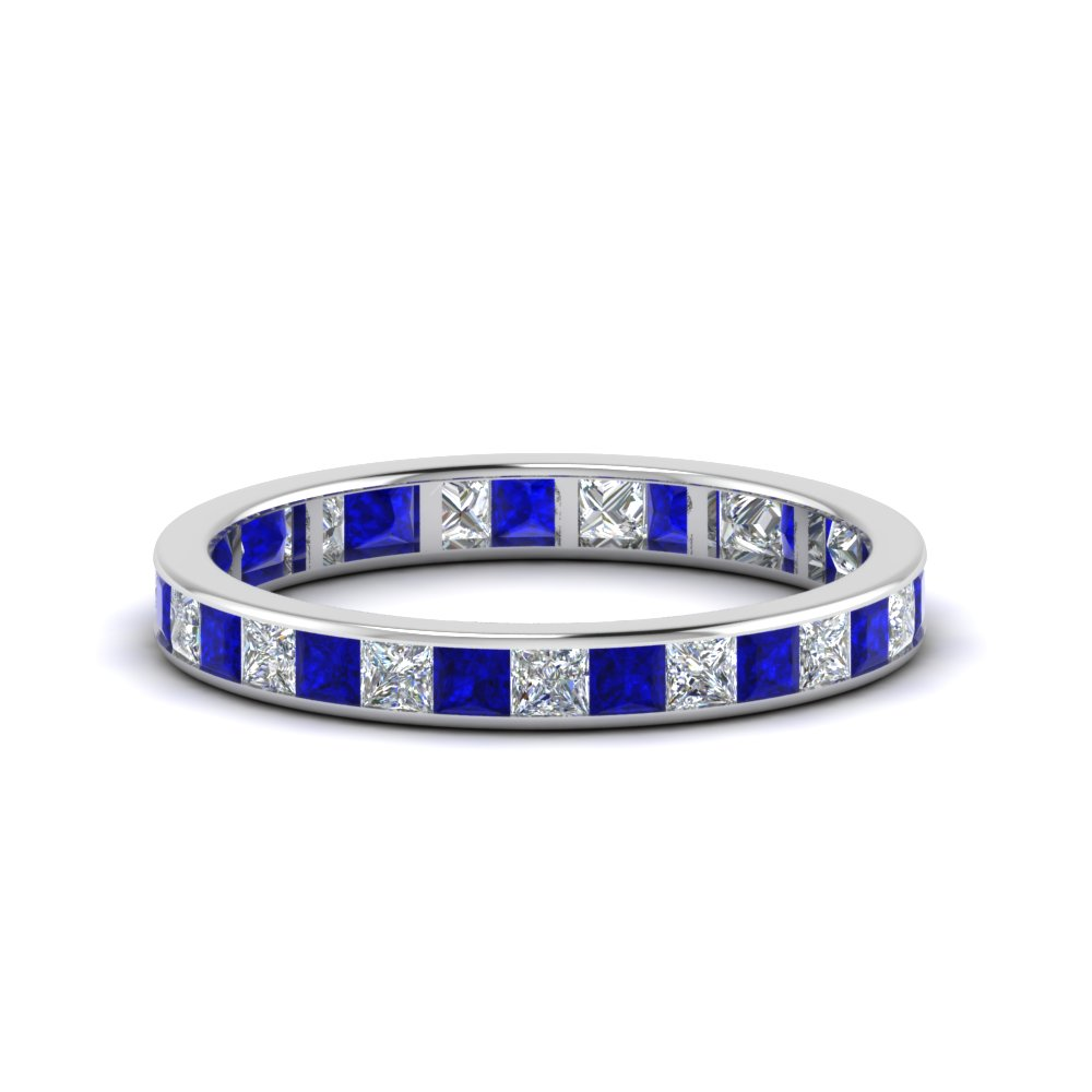 1.50 Ct. Princess Cut Anniversary Band