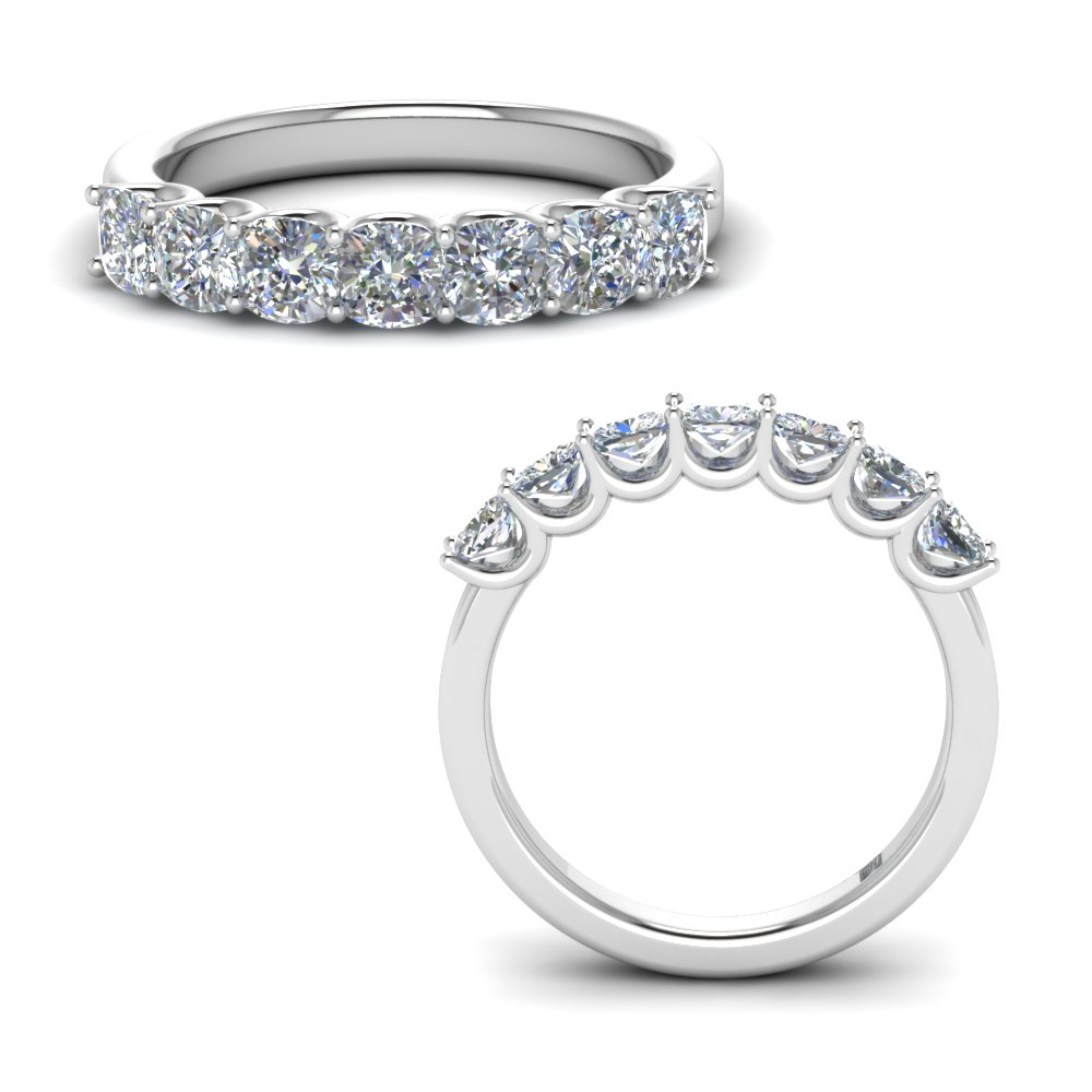 1.75 Ct. Classic Cushion Cut Band