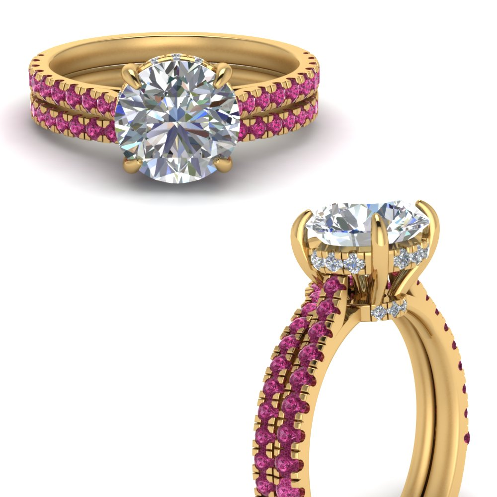 2-carat-diamond-pave-wrap-wedding-set-with-pink-sapphire-in-FD9128ROGSADRPIANGLE3-NL-YG-GS1