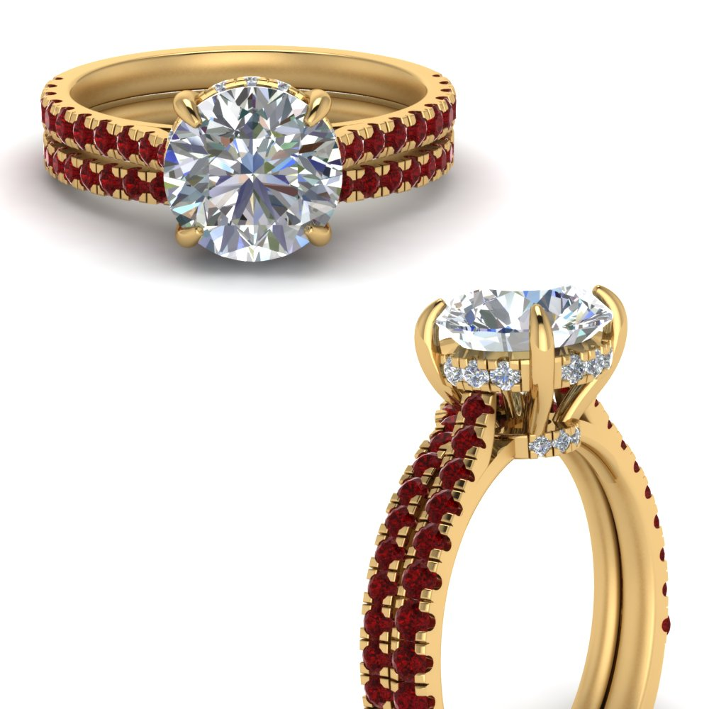 2-carat-diamond-pave-wrap-wedding-set-with-ruby-in-FD9128ROGRUDRANGLE3-NL-YG-GS1