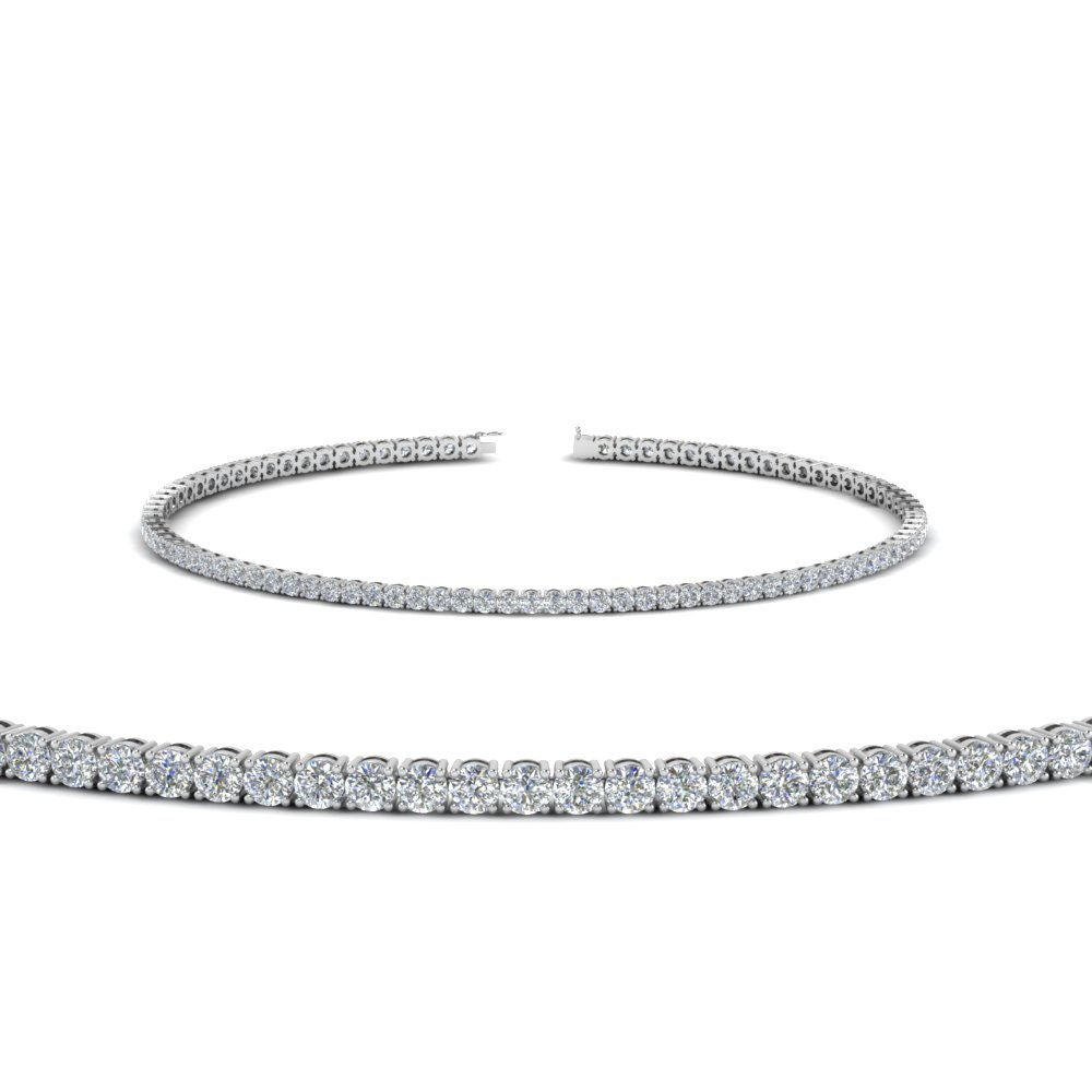 2 Carat Diamond Tennis Bracelet In Fdbrc8635 2ct Nl Wg
