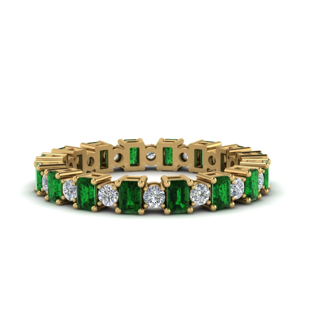 2 Karat Art Deco Style Eternity Band