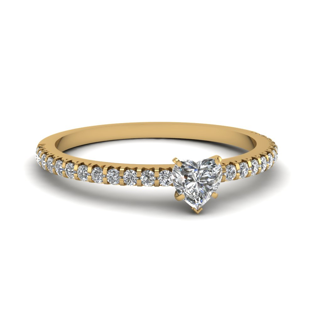 2 carat heart diamond petite engagement ring in FDENS3009HTR NL YG 30.jpg