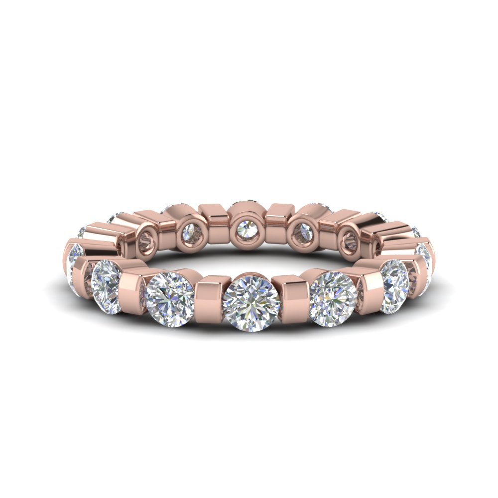 Diamond Bar Set Eternity Band